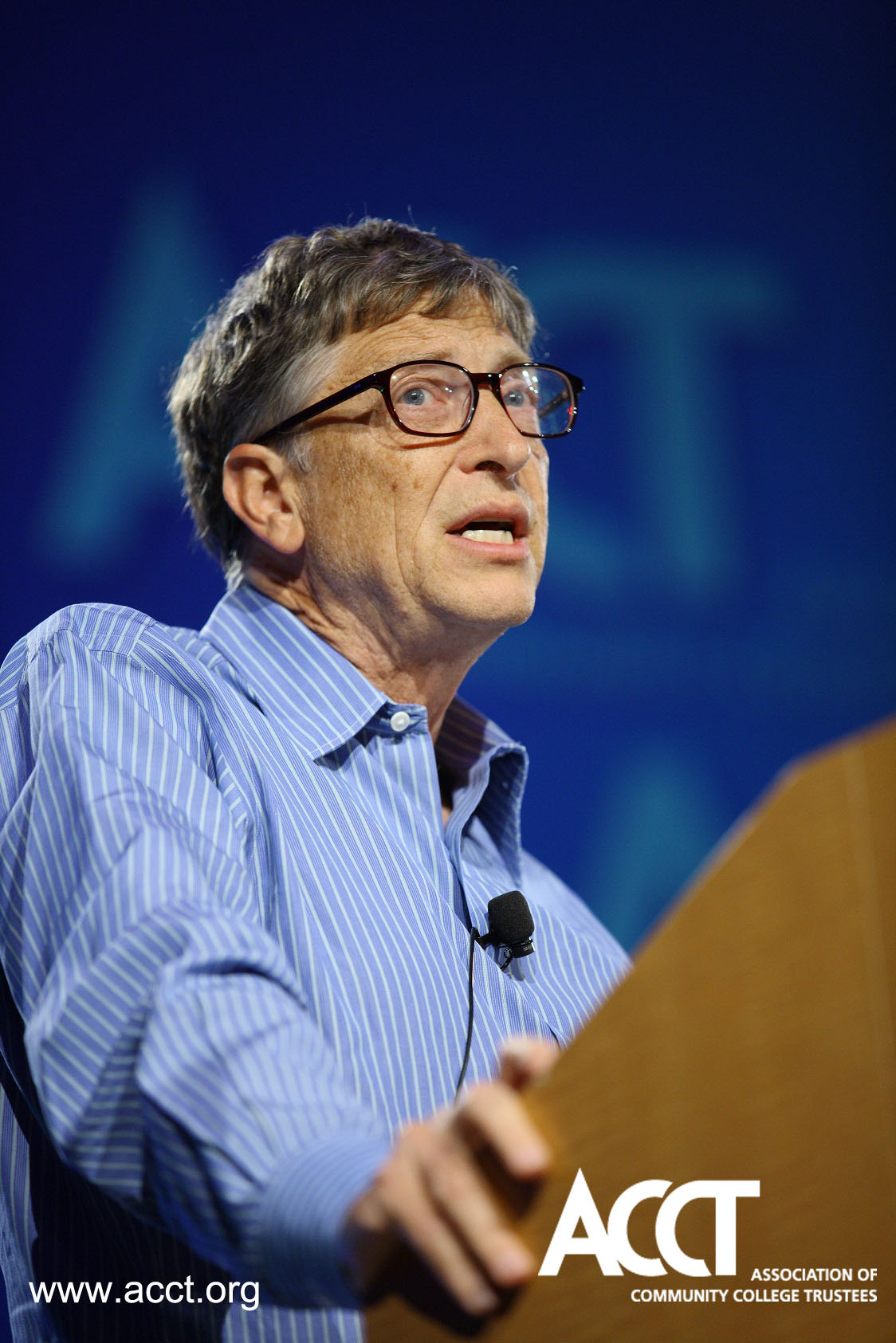 Bill Gates Keynotes 2013 ACCT Leadership Congress