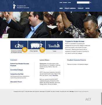 Trustees for Student Success Website