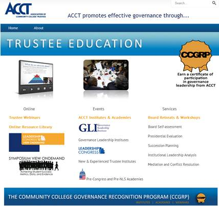 Trustee Education Website